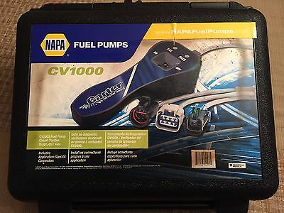 Napa Cv1000 New In The Case -Electronic Fuel Pump Tester Checks Circuits