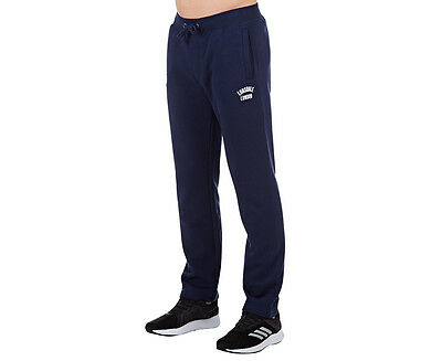 Lonsdale Men's Kyle Trackpant - Navy/White