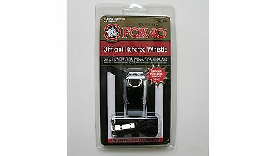 Fox40 Classic Powerful Sports Whistle w/ Lanyard