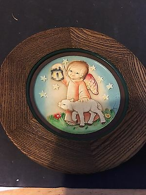 Anri Jerrandie 1978 Christmas plate Leading the Way No 330 Of 4000