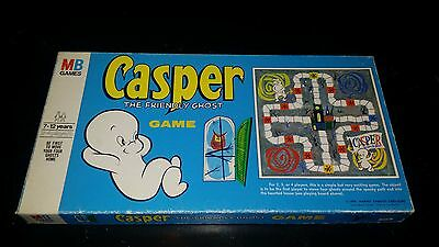 Vintage 1959 Casper the Friendly Ghost Board Game Milton Bradley Complete
