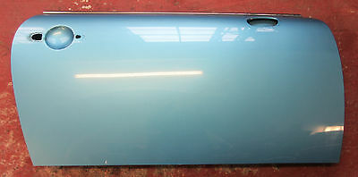 Genuine Used MINI O/S Drivers Side Door (Electric Blue) for R50 R52 R53