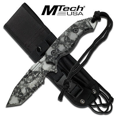 Coltello MTech Tactical Military Fixed MT2017TSC Knife Messer Couteau Navaja