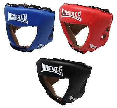 Lonsdale Challenger Head Protection Sparring Helmet Headguard Martial Arts