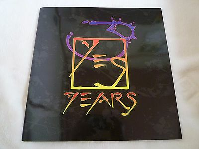 YES Japan tour 1998 program printed in Japan import include Flyer