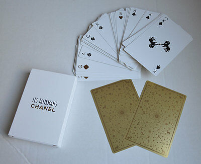 VIP gift from Chanel beauty boutique Deck of playing cards CHANEL TALISMANS NIB