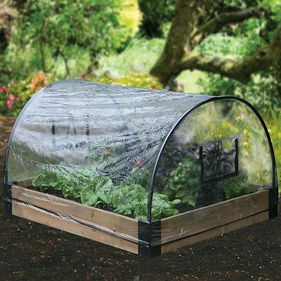 Garden Vegetables Plants Raised Bed Planter Weather Protection Canopy Poly Cover