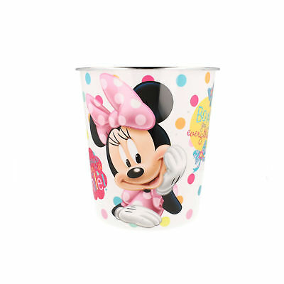 298027 Girls White Minnie Mouse Bin By Gosh Designs £2.99