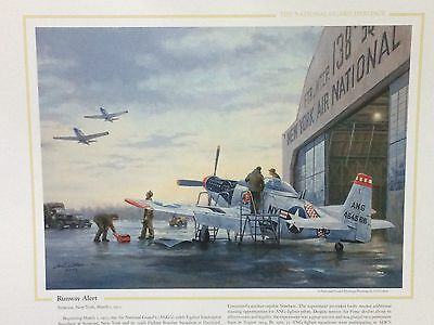 "National Guard Heritage Print - ""Runway Alert"" By Gil Cohen"