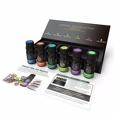 Essential Oils Set-100% Pure Aromatherapy Oils,Premium Quality- Starter Gift Set