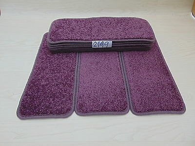 Carpet Stair pads / treads 50 cm x 20 cm 10 off   2199-2