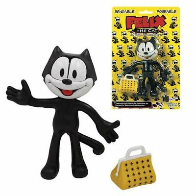 *** Nj Croce Felix The Cat Bendable Action Figure - New - Free Shipping ***
