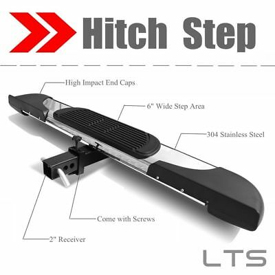 """Universal S.S Hitch Step Bumper Guard For vehicles with 2"""" Receiver 43.3"""" Long"""