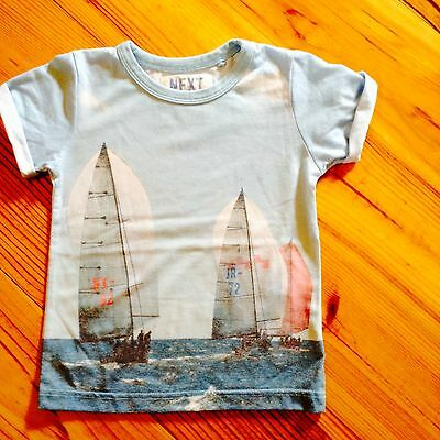 NEXT Sailing boat t shirt 18-24 month boy - Immaculate