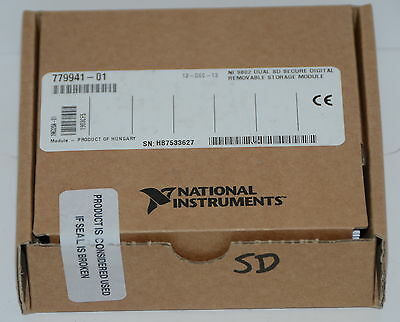*NEW * National Instruments NI 9802 Secure Digital Removable Storage Module