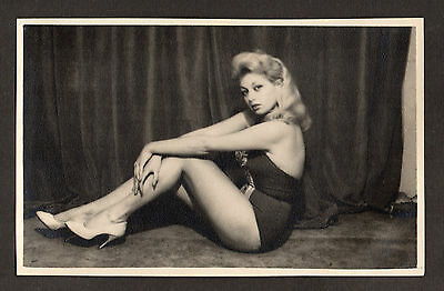 Une pin up - photo vintage 1950 - Jacques Audisio photographe n°2