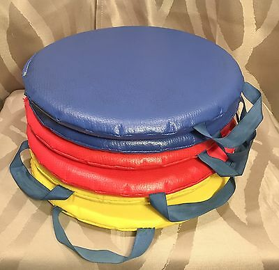 Sit Arounds - Set of 6 Preschool Sit Upons Circle Time Seat Pads