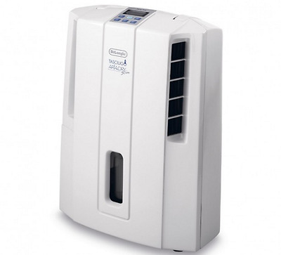 Dehumidifier Air Portable Electric Moisture Absorber Delonghi Home Quiet Drying