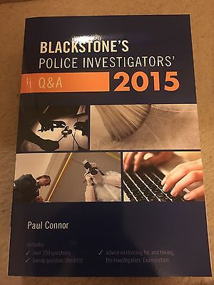 Blackstone's Police Investigators' Q&A 2015 by Paul Connor (Paperback, 2014)