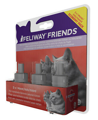 FELIWAY® FRIENDS 3x30 Tage Vorteilspack (35,42€/100ml)