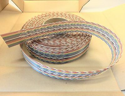 3M Scotchflex Twisted Flat Ribbon Cable 1700/34 34-Conductor 28AWG 50 feet