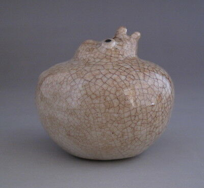 Old Chinese Ge Ware Porcelain bird Water Dripper
