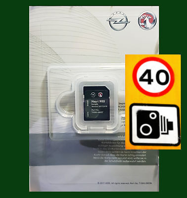 2018/2017 Vauxhall Chevrolet Opel Sd Card Europe Maps Gb Ireland Navi 600 900