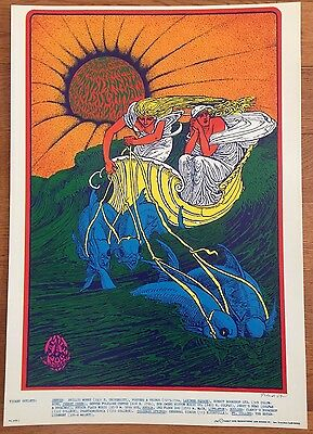 Canned Heat Avalon Ballroom Denver 1967 Bob Fried Poster FDD 14-1