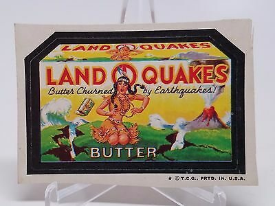 1974 Topps Original Wacky Packages 4th Series OPC Land O Quakes tan back