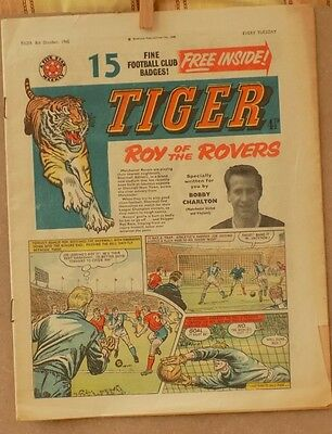 Tiger Comic 8th October 1960 – Very Good Condition