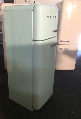 Smeg Fridge Freezer Fab30 Pastel Green Excellent Full WARRANTY