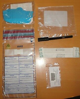 Forensic Dna Identifying Kit,-Film Prop ?- Ideal For Dead Bodies Or Disaster Etc