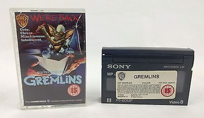 Gremlins Video 8 Movie Pre-Recorded PAL Made In Japan