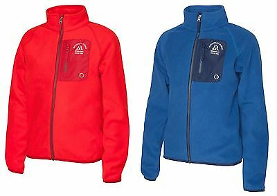 New Mountain Horse Milo Junior Fleece - Cobalt Blue / Bright Red