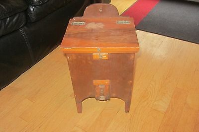 ANTIQUE HAND MADE WOOD BOX TOBACCO OR AGRICULTURAL BOX? CIRCA LATE 1800s LOOK!