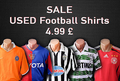 USED Football Shirts Jersey World football clubs and national teams 4.99 GBP