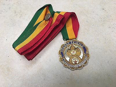 Ararat Temple Crown Honor Medal - Named and dated 1997