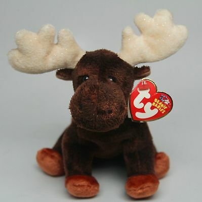 TY Beanie Buddy Buddies  ~ ZEUS THE MOOSE ~ MWMT ~ HTF