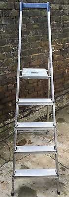 *** Good Condition 5 Tier (107cm ) Stepping Ladder (Youngman) ***