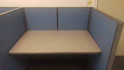 Herman Miller Action Office System Call Center Cubicles - Set of 4