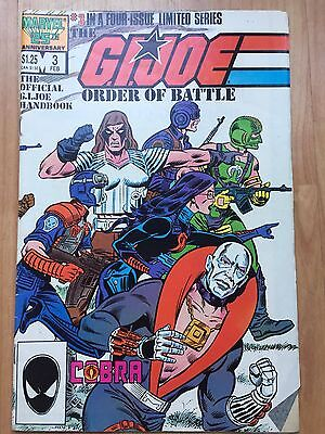G.I. JOE Marvel Comics #3
