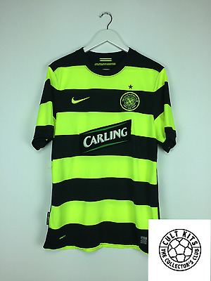 CELTIC 09/10 Away Football Shirt (M) Soccer Jersey Nike