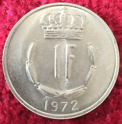 Luxemburg Luxembourg 1 Francs 1972