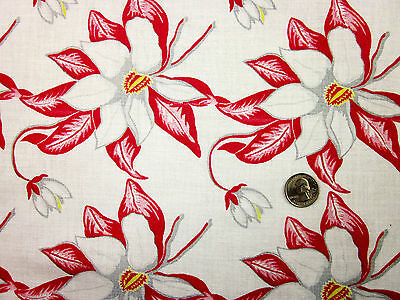 "Feedsack Vintage ""FLORAL"" 100% Cotton Quilt & Sewing Fabric"