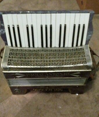 Vintage PAOLO ANTONIO Accordion made in Saxony Germany