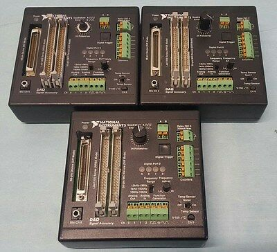 Lot Of 3 National Instruments 183554C-01 Daq Signal Accessory
