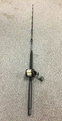 Shimano TLD 20A 2 Speed Conventional Reel With Key Largo E202 SSB/BT Rod Combo