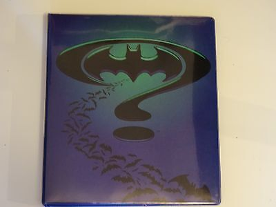 Batman Forever Metal Card Set / 1995 / Complete with Binder & Protective Sleeves