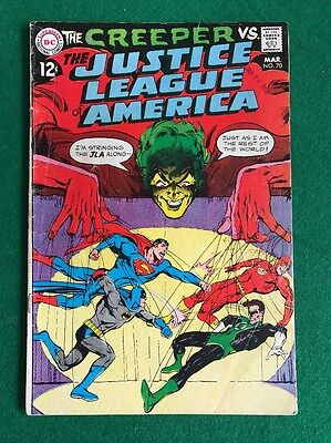 Justice League of America #70     The Creeper     Neal Adams Cover