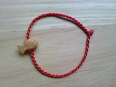 Chinese Feng Shui Charm Bracelet 'Lucky Fish' Blessing Amulet Cute Gift Medium